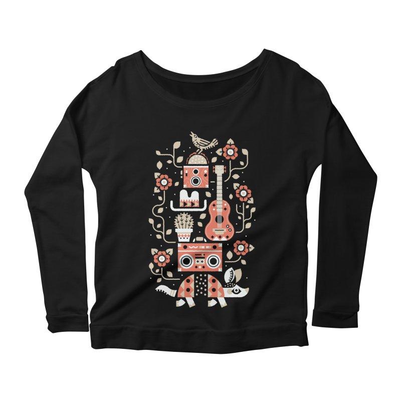Groovy Armadillo Women's Longsleeve T-Shirt by Erikas
