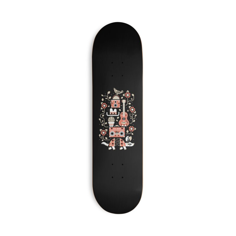 Groovy Armadillo Accessories Skateboard by Erikas