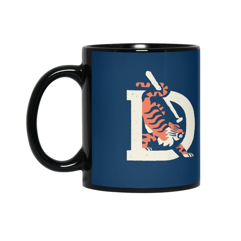 Tigers Baseball Accessories Mug by Erikas
