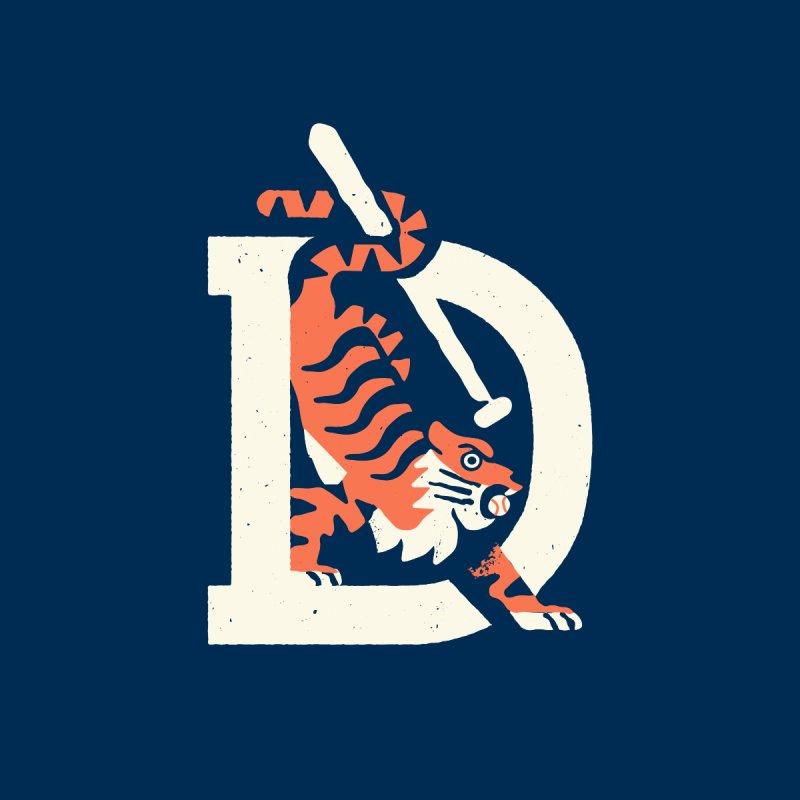 Tigers Baseball Men's T-Shirt by Erikas