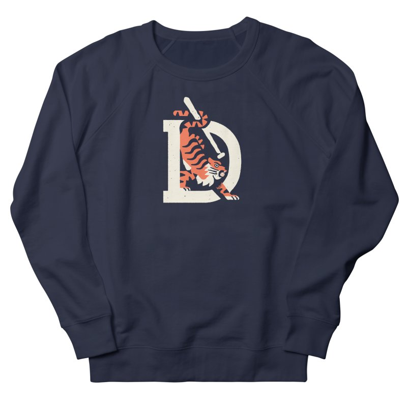 Tigers Baseball Women's Sweatshirt by Erikas