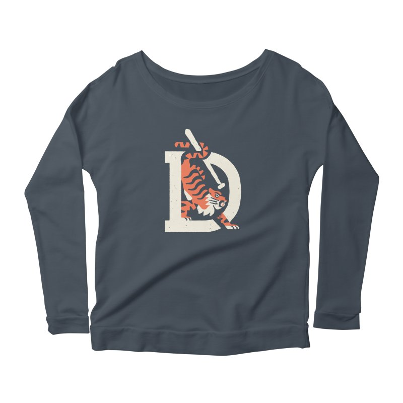 Tigers Baseball Women's Longsleeve T-Shirt by Erikas
