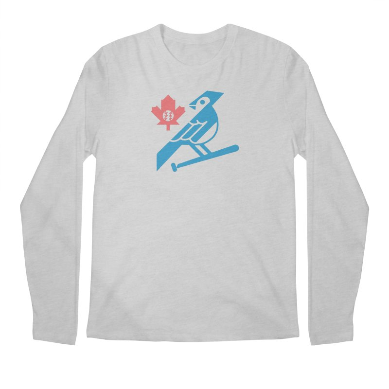 Toronto Blue Jays Men's Longsleeve T-Shirt by Erikas