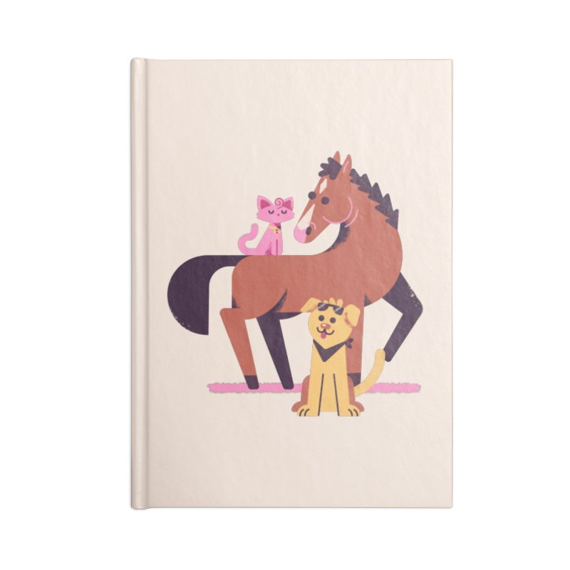 Depressed Horse & Friends Accessories Notebook by Erikas