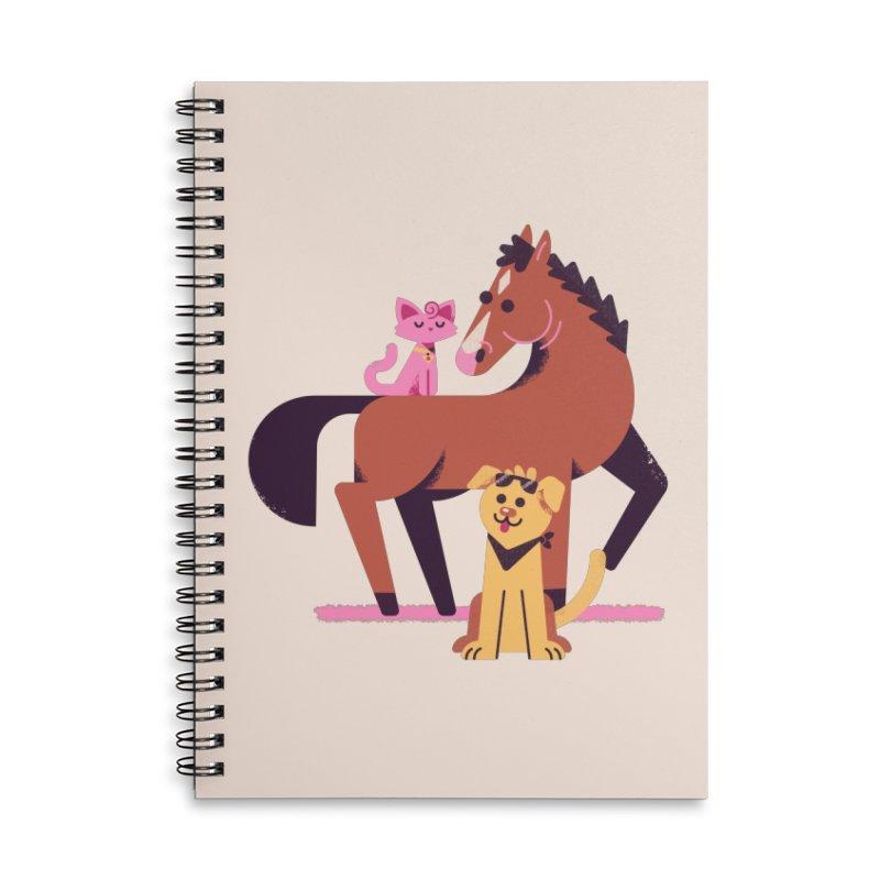 Depressed Horse & Friends Accessories Notebook by Erikas