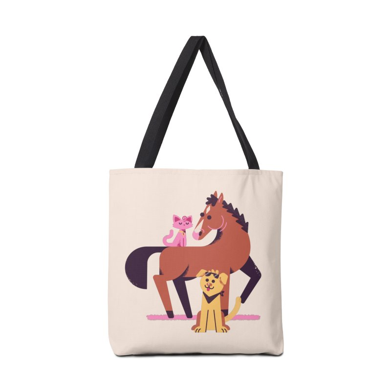 Depressed Horse & Friends Accessories Bag by Erikas
