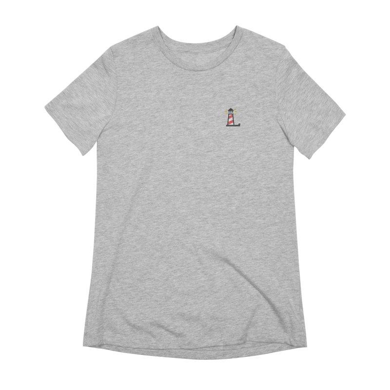 Lighthouse Women's Extra Soft T-Shirt by Erika's Lighthouse Artist Shop