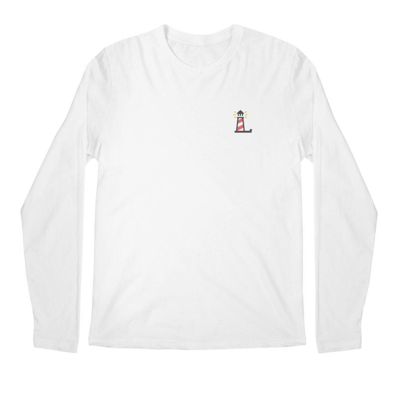 Lighthouse Men's Regular Longsleeve T-Shirt by Erika's Lighthouse Artist Shop