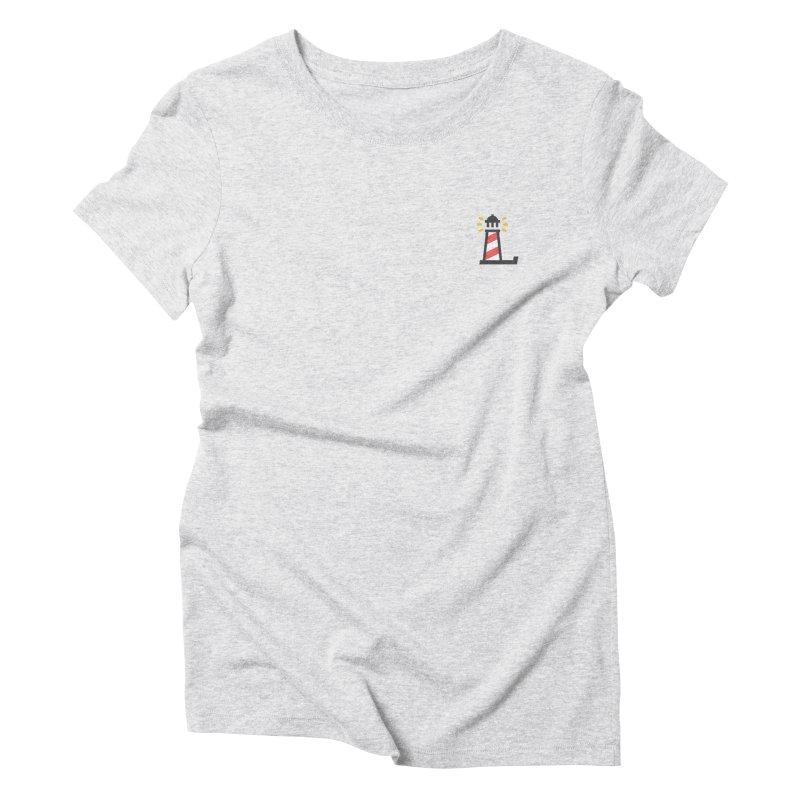 Lighthouse Women's Triblend T-Shirt by Erika's Lighthouse Artist Shop
