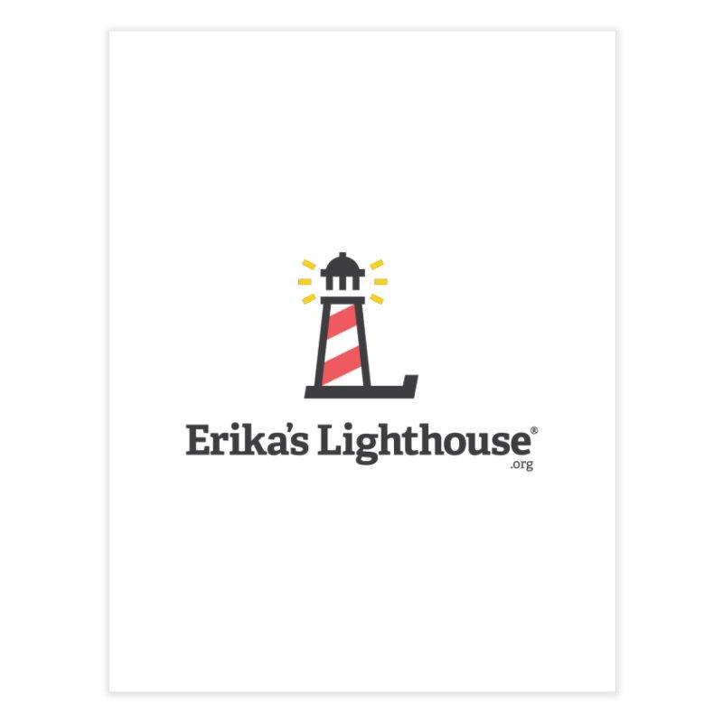 Erika's Lighthouse Home Fine Art Print by Erika's Lighthouse Artist Shop