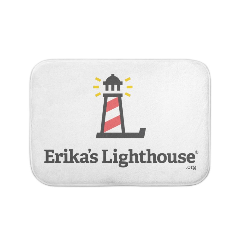 Erika's Lighthouse Home Bath Mat by Erika's Lighthouse Artist Shop