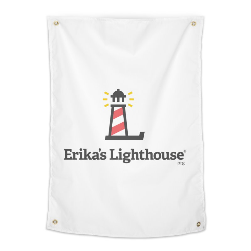 Erika's Lighthouse Home Tapestry by Erika's Lighthouse Artist Shop