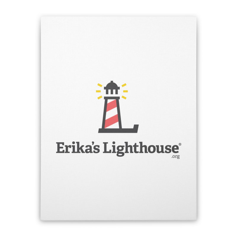 Erika's Lighthouse Home Stretched Canvas by Erika's Lighthouse Artist Shop