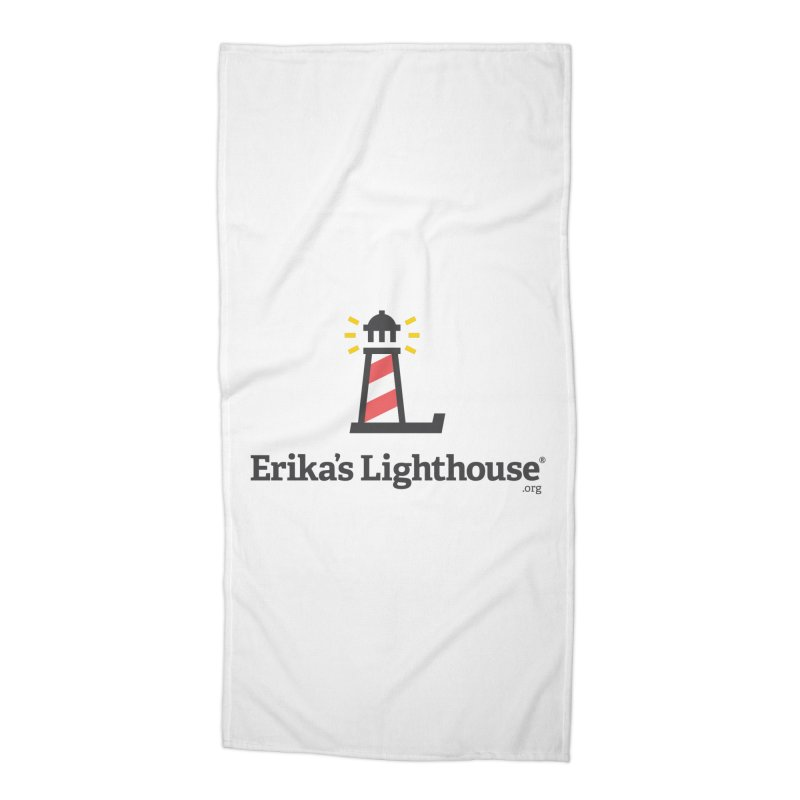 Erika's Lighthouse Accessories Beach Towel by Erika's Lighthouse Artist Shop