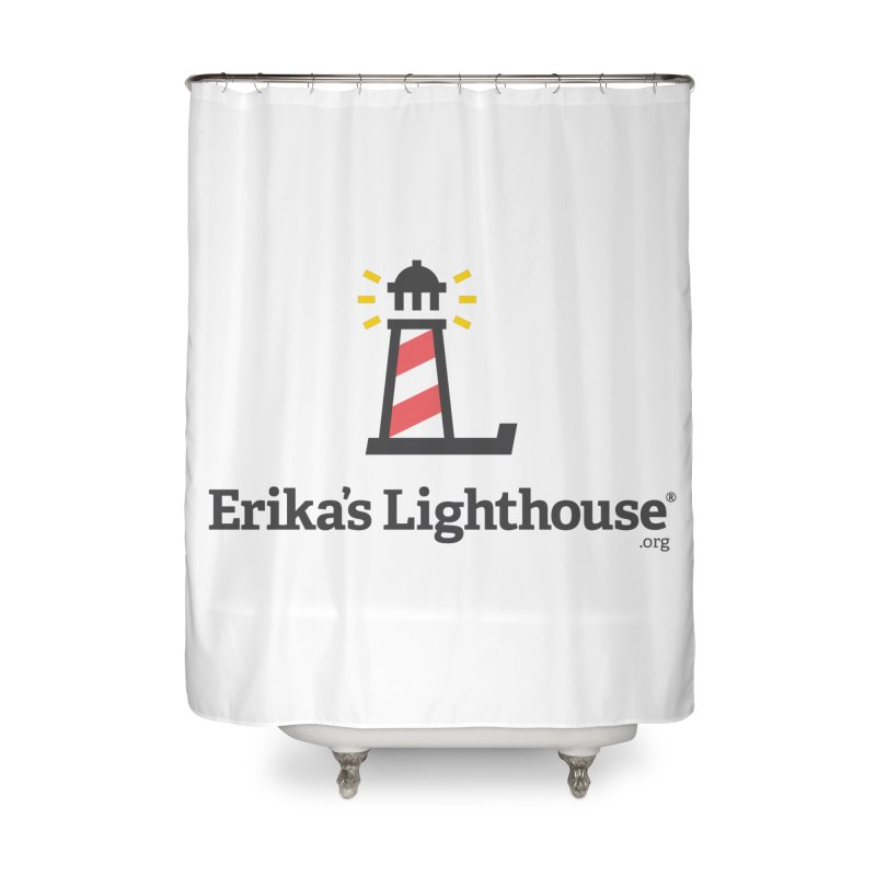 Erika's Lighthouse Home Shower Curtain by Erika's Lighthouse Artist Shop