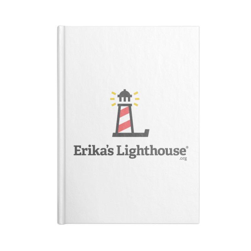 Erika's Lighthouse Accessories Blank Journal Notebook by Erika's Lighthouse Artist Shop
