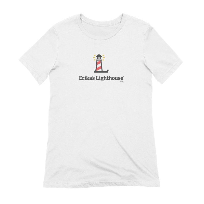 Erika's Lighthouse Women's Extra Soft T-Shirt by Erika's Lighthouse Artist Shop