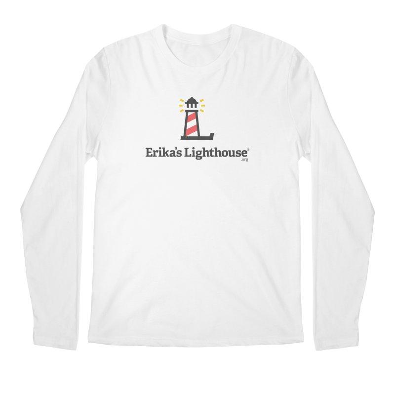 Erika's Lighthouse Men's Regular Longsleeve T-Shirt by Erika's Lighthouse Artist Shop