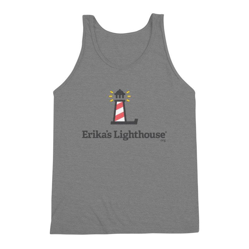 Erika's Lighthouse Men's Triblend Tank by Erika's Lighthouse Artist Shop