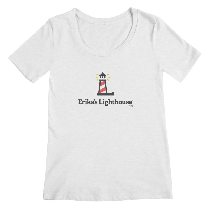 Erika's Lighthouse Women's Regular Scoop Neck by Erika's Lighthouse Artist Shop