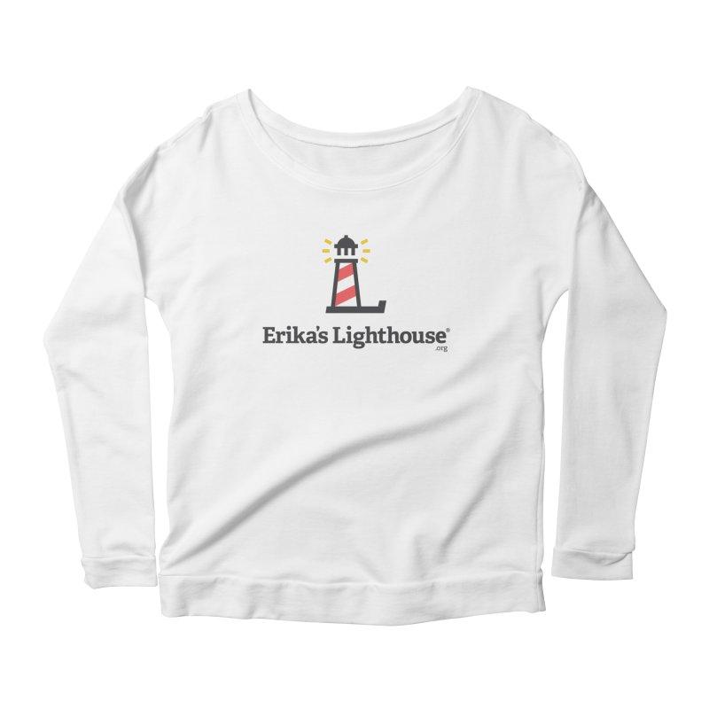 Erika's Lighthouse Women's Scoop Neck Longsleeve T-Shirt by Erika's Lighthouse Artist Shop