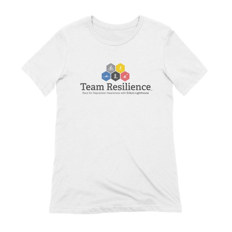 Team Resilience Women's Extra Soft T-Shirt by Erika's Lighthouse Artist Shop