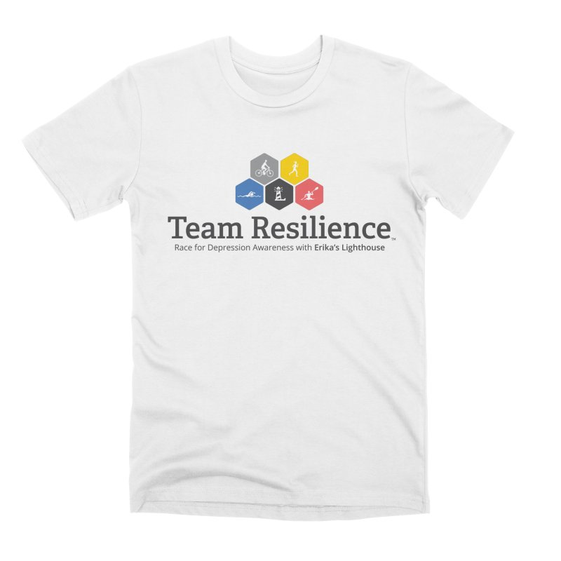 Team Resilience Men's Premium T-Shirt by Erika's Lighthouse Artist Shop