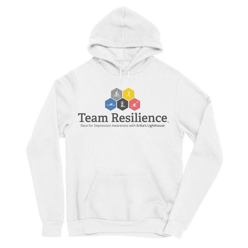 Team Resilience Men's Sponge Fleece Pullover Hoody by Erika's Lighthouse Artist Shop