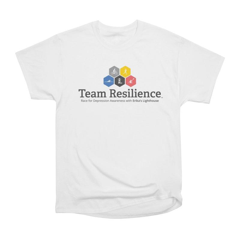 Team Resilience Women's Heavyweight Unisex T-Shirt by Erika's Lighthouse Artist Shop