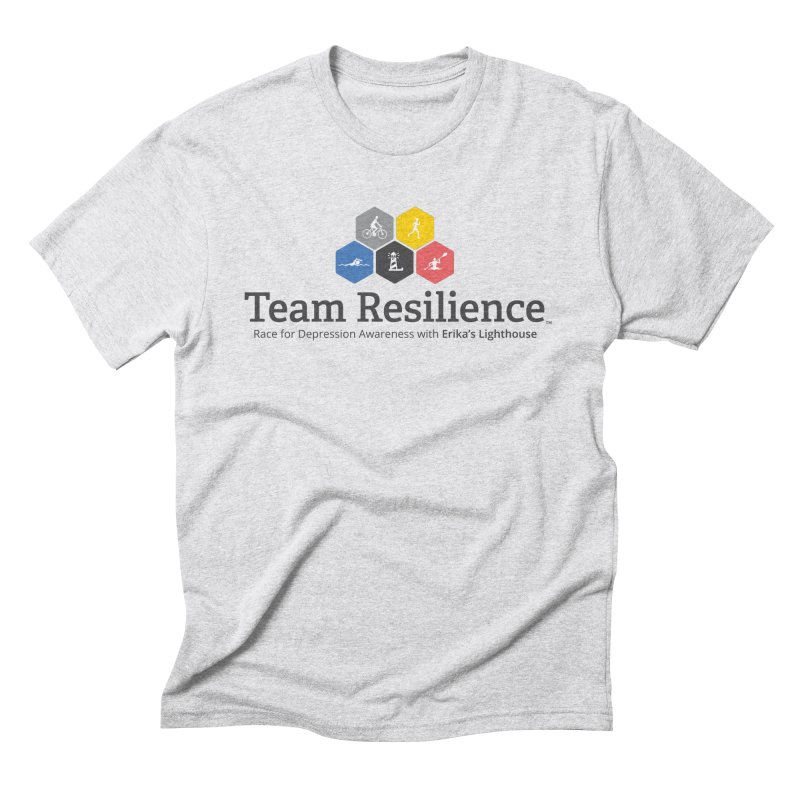 Team Resilience Men's Triblend T-Shirt by Erika's Lighthouse Artist Shop