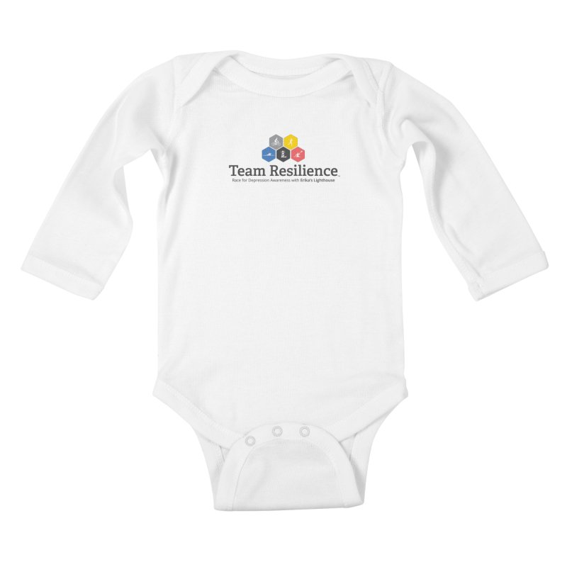 Team Resilience Kids Baby Longsleeve Bodysuit by Erika's Lighthouse Artist Shop