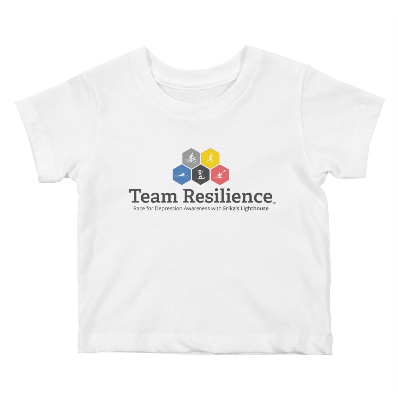 Team Resilience Kids Baby T-Shirt by Erika's Lighthouse Artist Shop