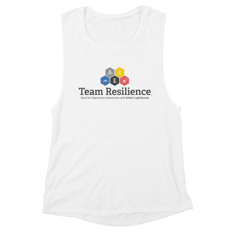 Team Resilience Women's Muscle Tank by Erika's Lighthouse Artist Shop