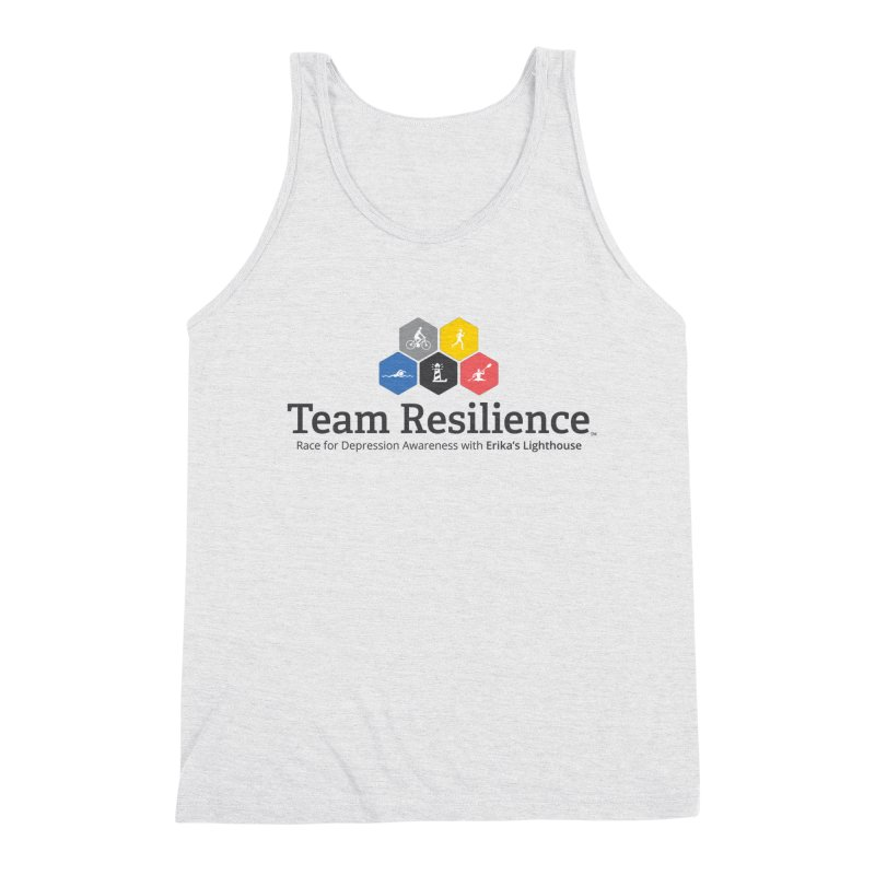 Team Resilience Men's Triblend Tank by Erika's Lighthouse Artist Shop