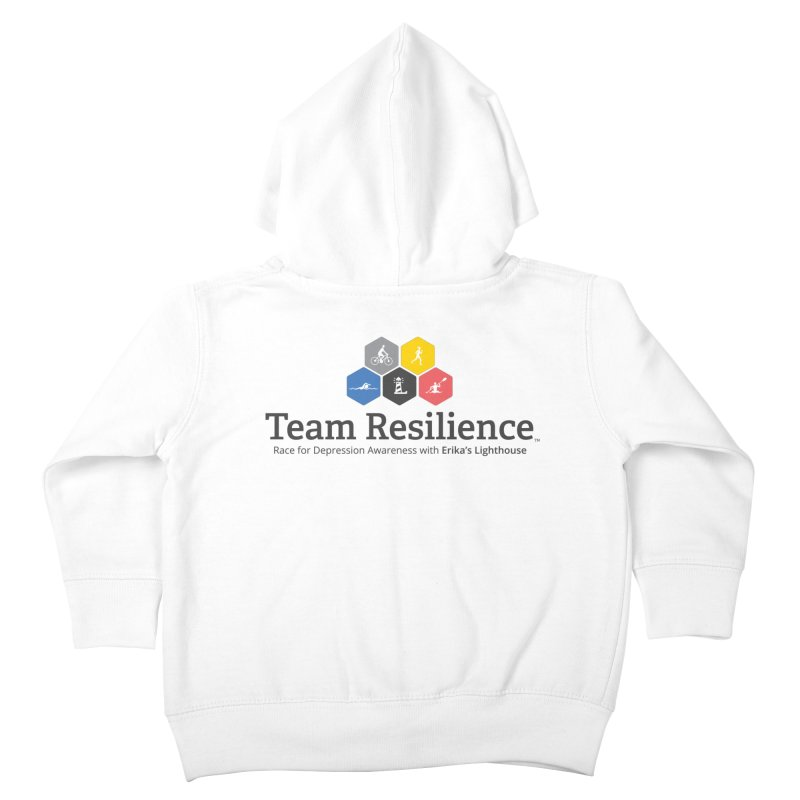 Team Resilience Kids Toddler Zip-Up Hoody by Erika's Lighthouse Artist Shop