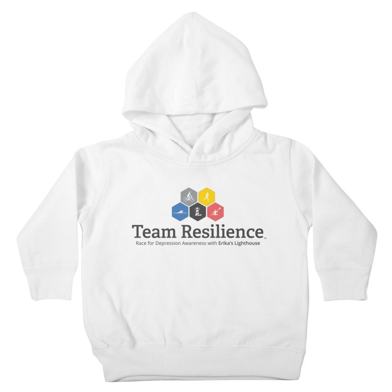 Team Resilience Kids Toddler Pullover Hoody by Erika's Lighthouse Artist Shop