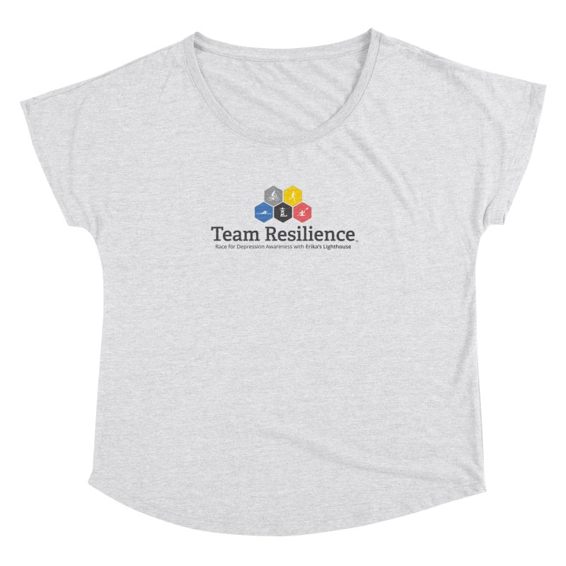 Team Resilience Women's Dolman Scoop Neck by Erika's Lighthouse Artist Shop