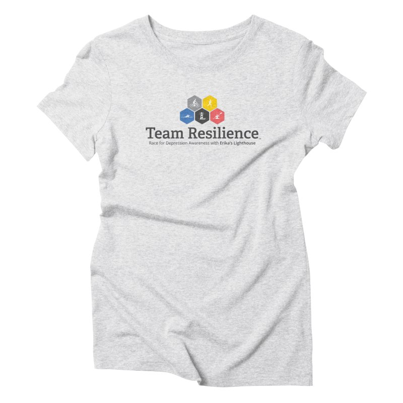 Team Resilience Women's Triblend T-Shirt by Erika's Lighthouse Artist Shop
