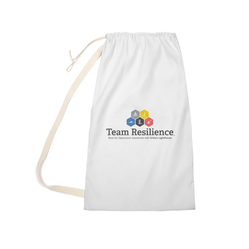 Team Resilience Accessories Laundry Bag Bag by Erika's Lighthouse Artist Shop