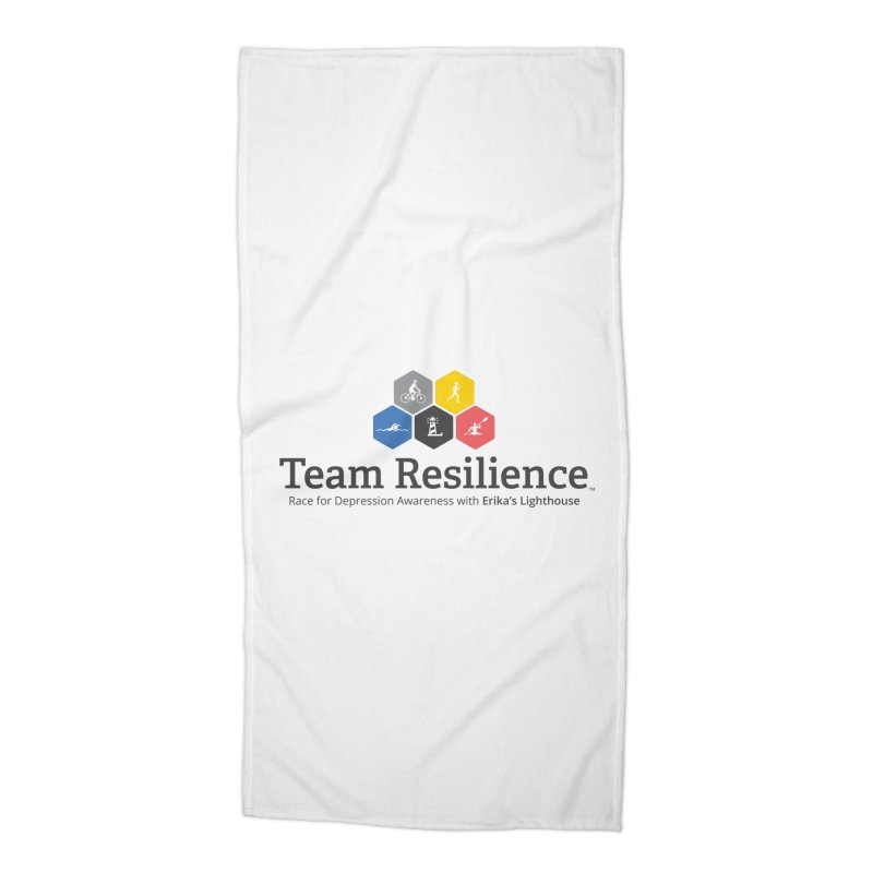 Team Resilience Accessories Beach Towel by Erika's Lighthouse Artist Shop