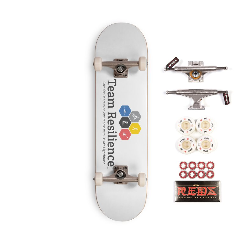 Team Resilience Accessories Complete - Pro Skateboard by Erika's Lighthouse Artist Shop