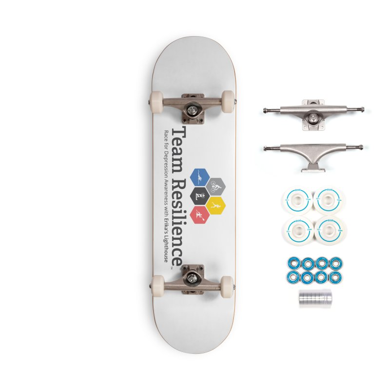 Team Resilience Accessories Complete - Basic Skateboard by Erika's Lighthouse Artist Shop