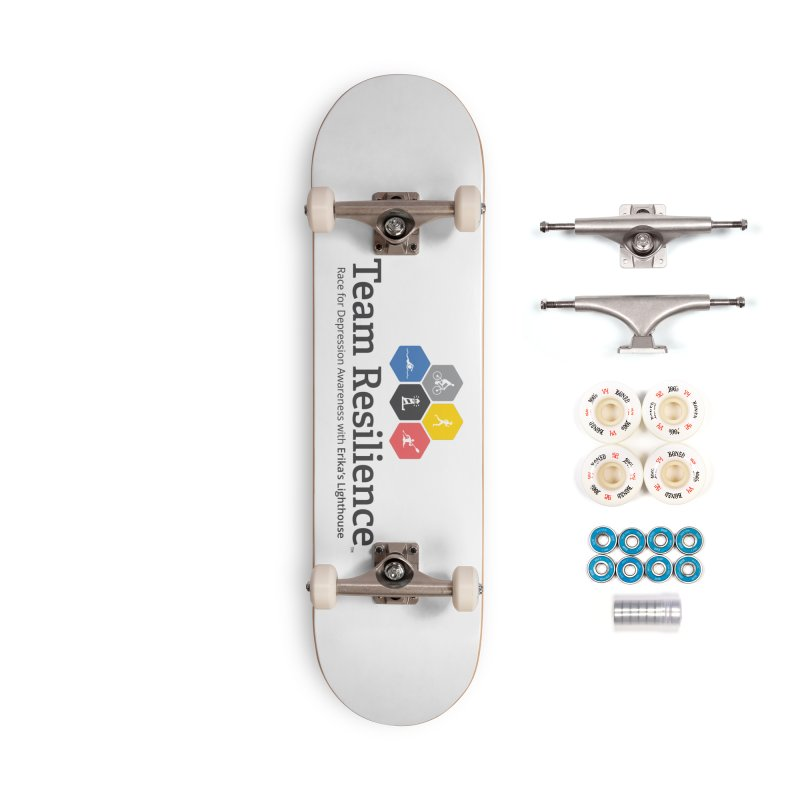 Team Resilience Accessories Complete - Premium Skateboard by Erika's Lighthouse Artist Shop