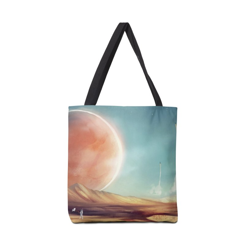 The Red Moon Accessories Bag by @franzeboy Artist Shop