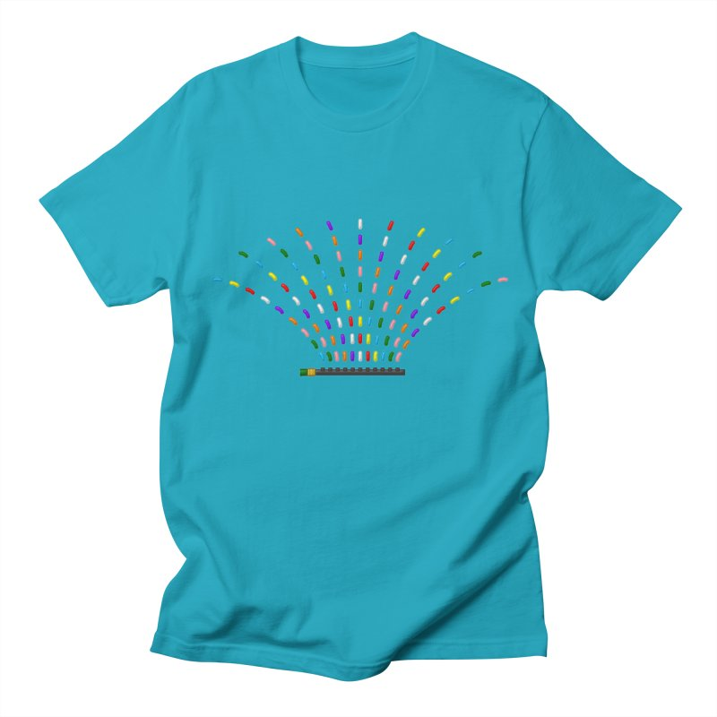 Rainbow Sprinkle-r Women's T-Shirt by Eriklectric's Artist Shop