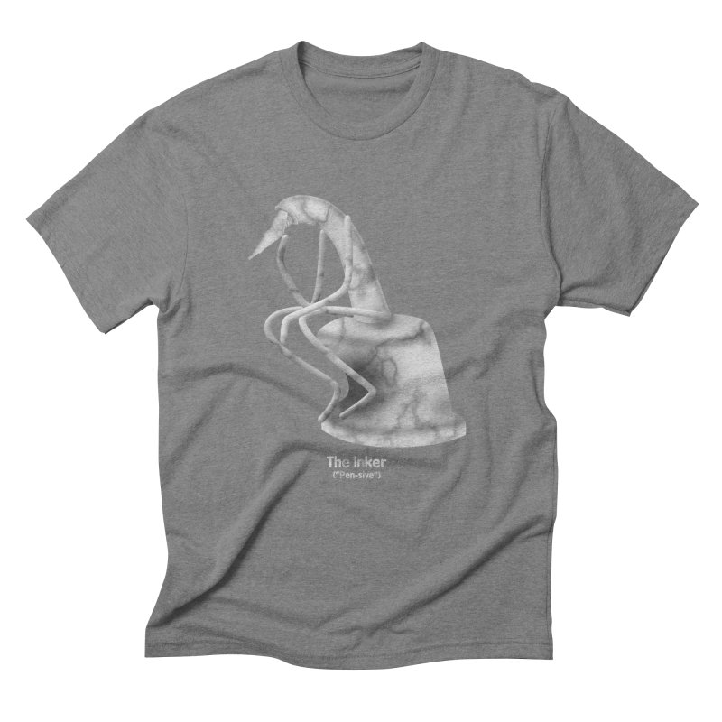 "The Inker (""Pen-sive"") Men's Triblend T-Shirt by Eriklectric's Artist Shop"
