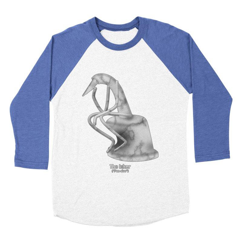"The Inker (""Pen-sive"") Women's Baseball Triblend Longsleeve T-Shirt by Eriklectric's Artist Shop"