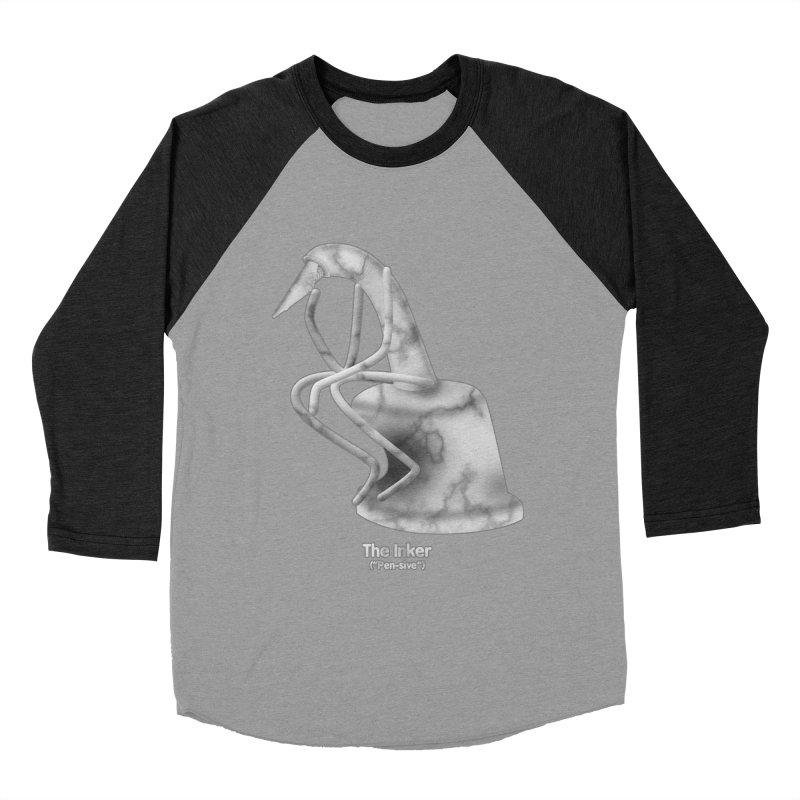 "The Inker (""Pen-sive"") Men's Longsleeve T-Shirt by Eriklectric's Artist Shop"