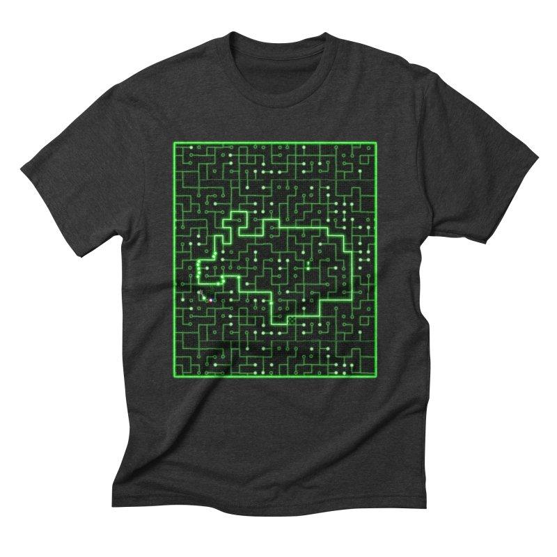 Racing Circuit Men's T-Shirt by Eriklectric's Artist Shop