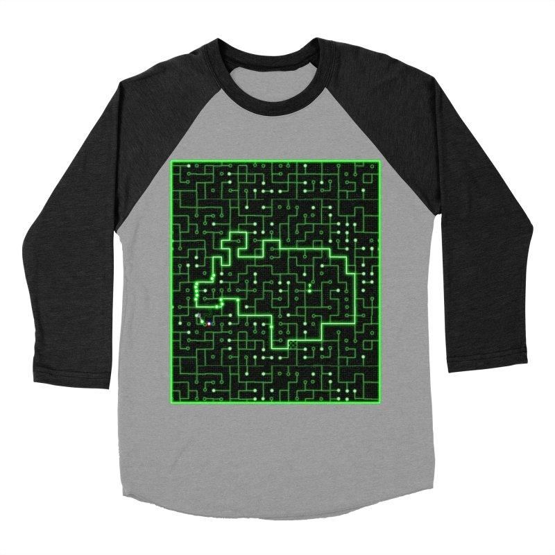 Racing Circuit Women's Baseball Triblend Longsleeve T-Shirt by Eriklectric's Artist Shop